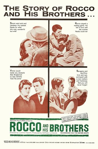 Rocco and His Brothers Poster