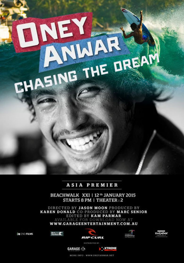Oney Anwar - Chasing the Dream Poster
