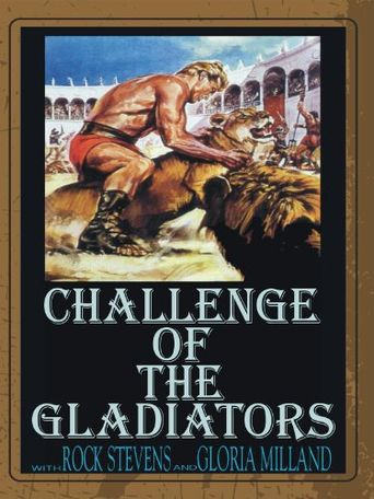 Challenge of the Gladiator Poster