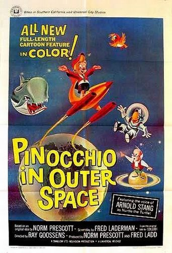 Pinocchio in Outer Space Poster