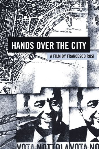 Hands Over the City Poster