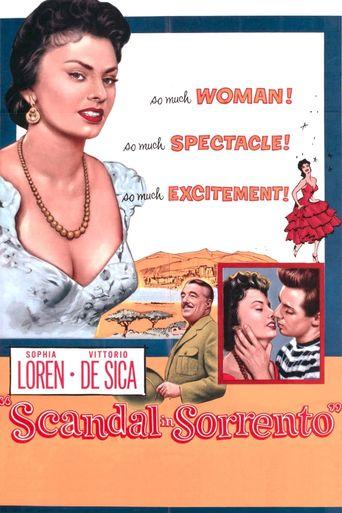 Scandal in Sorrento Poster