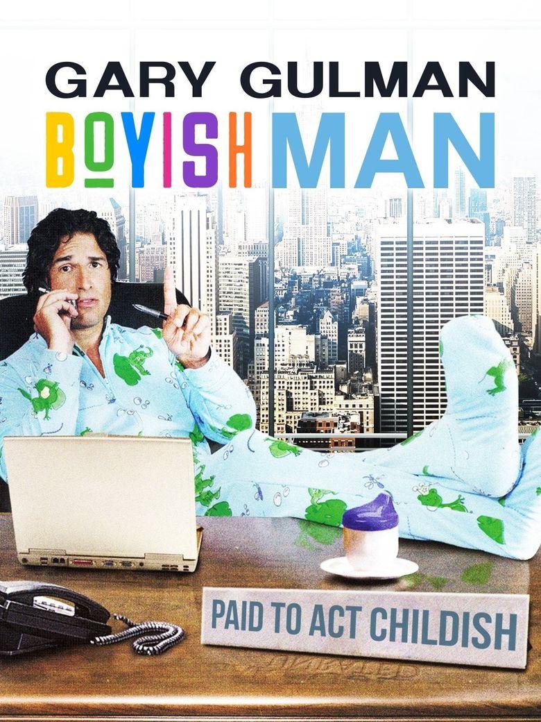 Gary Gulman: Boyish Man Poster