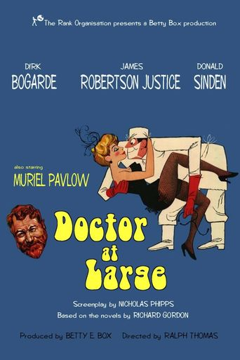 Doctor at Large Poster