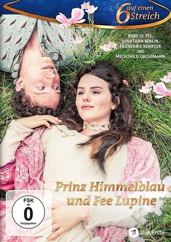 Prinz Himmelblau und Fee Lupine Poster