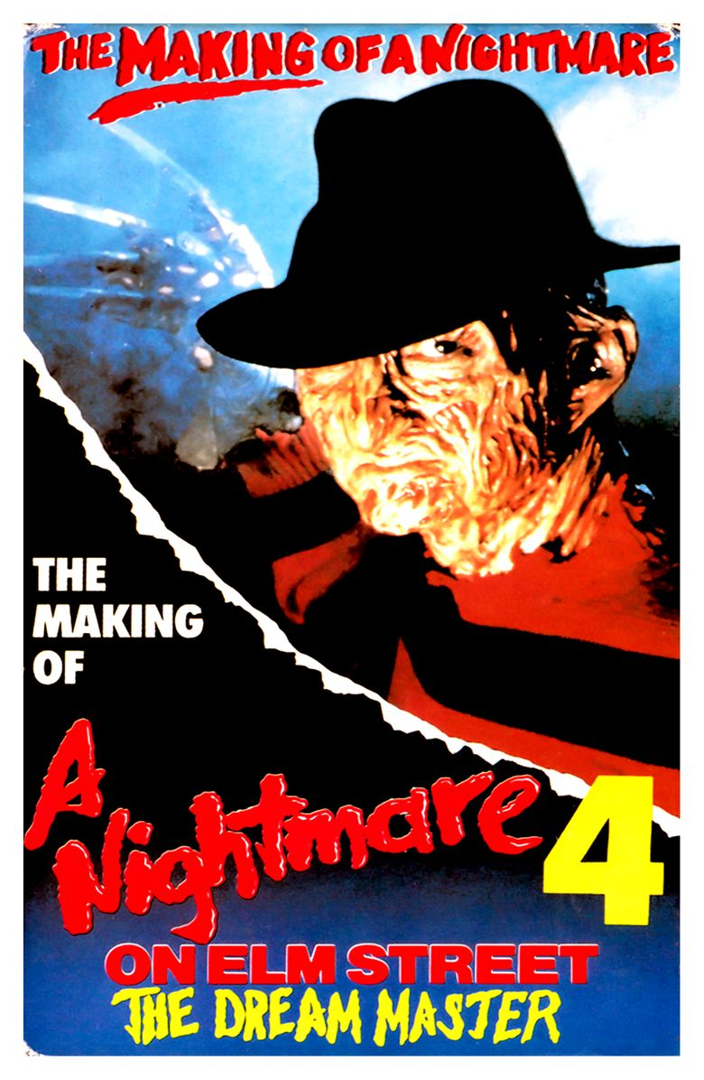 The Making of 'Nightmare on Elm Street IV' Poster
