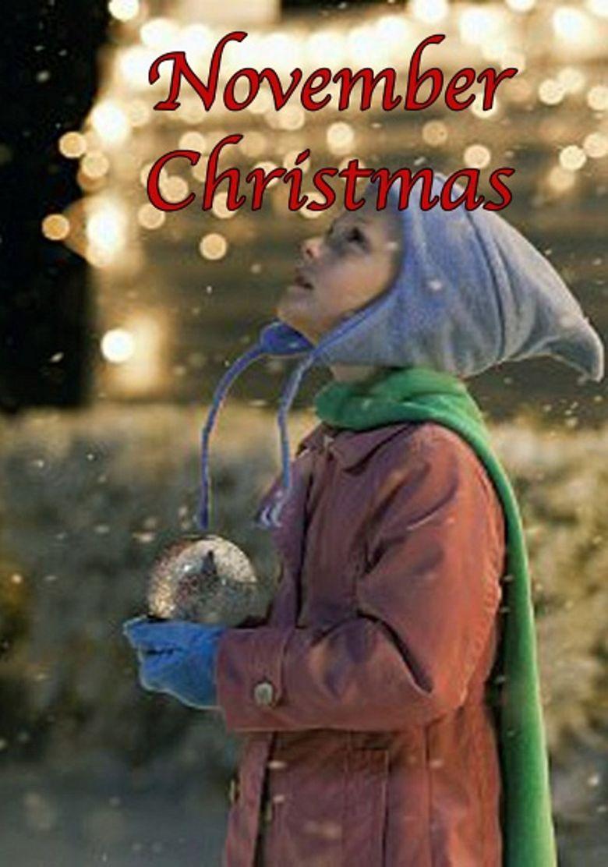 November Christmas Poster