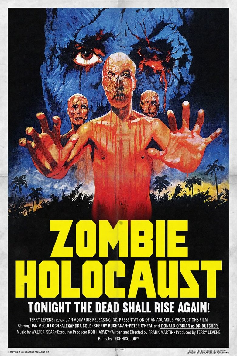 Zombie Holocaust Poster