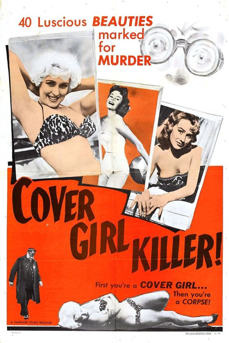 Cover Girl Killer Poster