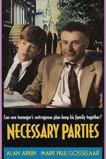 Necessary Parties Poster