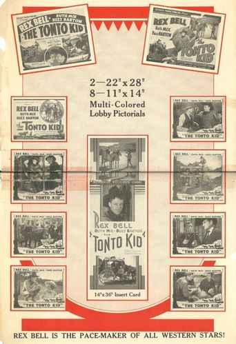 The Tonto Kid Poster