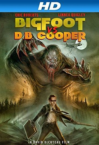 Bigfoot vs. D.B. Cooper Poster