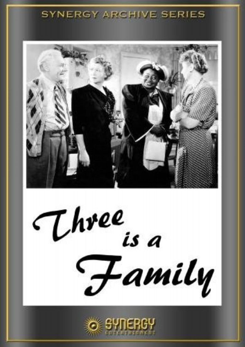 Three Is a Family Poster