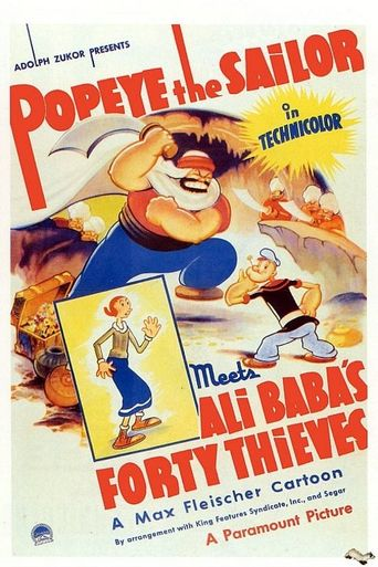 Popeye the Sailor Meets Ali Baba's Forty Thieves Poster
