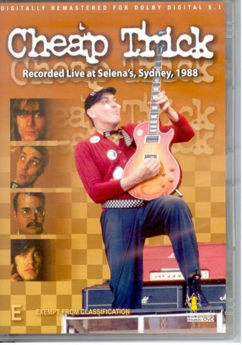 Cheap Trick - Live In Australia 88 Poster