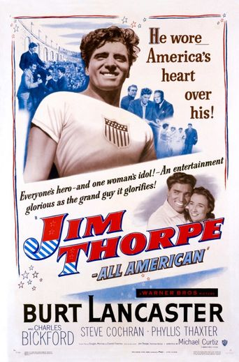 Jim Thorpe – All-American Poster