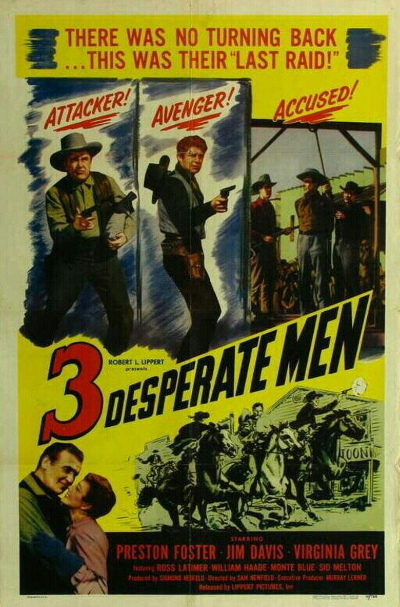 Three Desperate Men Poster