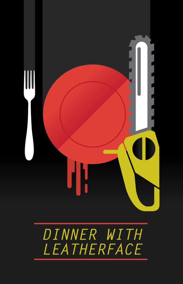 Dinner with Leatherface Poster