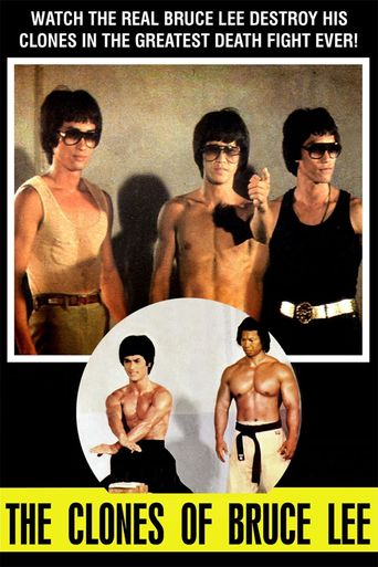 The Clones of Bruce Lee Poster