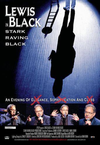 Lewis Black: Stark Raving Black Poster