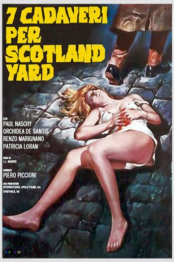 Seven Murders for Scotland Yard Poster