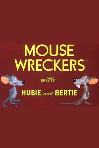 Mouse Wreckers Poster
