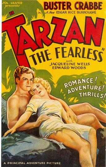 Tarzan The Fearless Poster