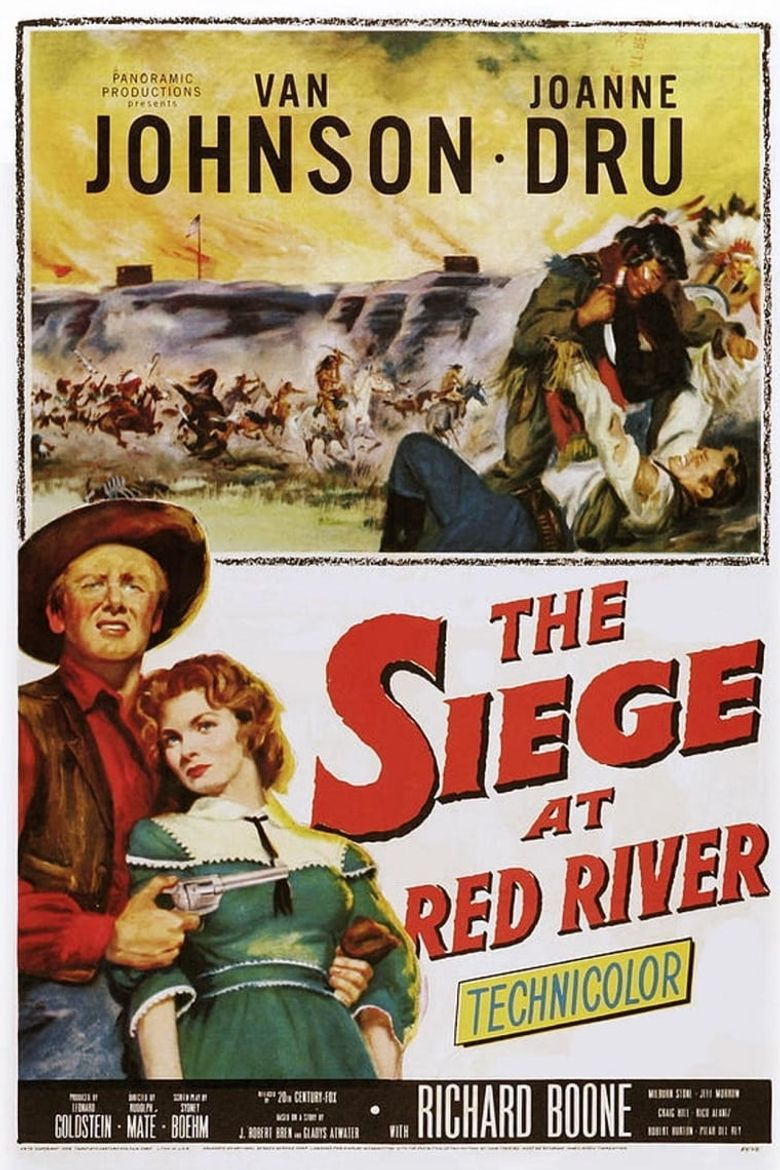 Siege at Red River Poster