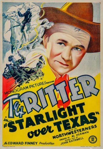 Starlight Over Texas Poster