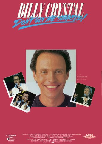 Billy Crystal: Don't Get Me Started Poster