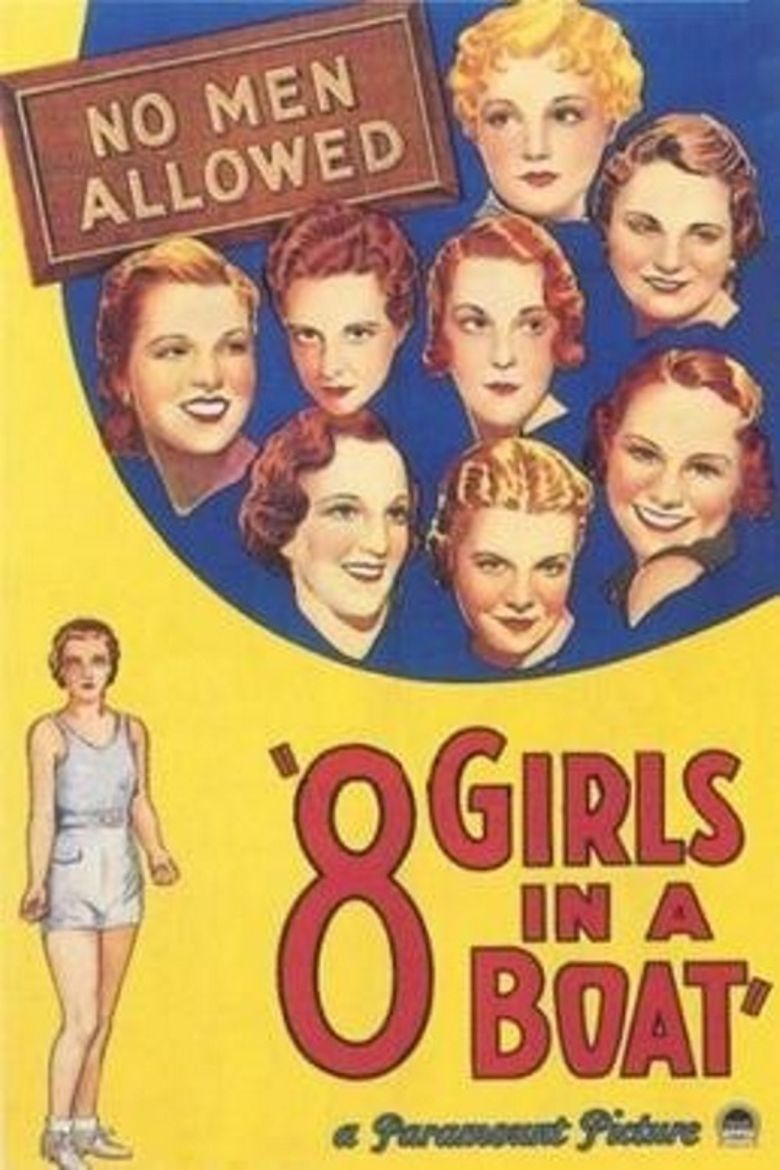 Eight Girls in a Boat Poster