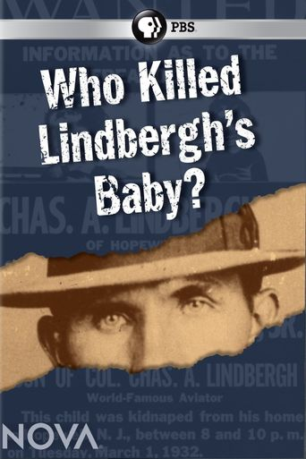 Who Killed Lindbergh's Baby? Poster