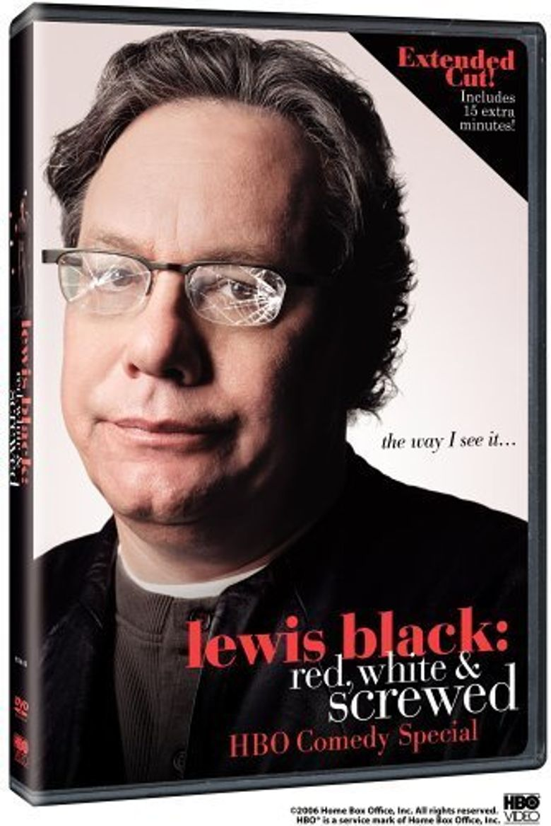 Lewis Black: Red, White & Screwed Poster