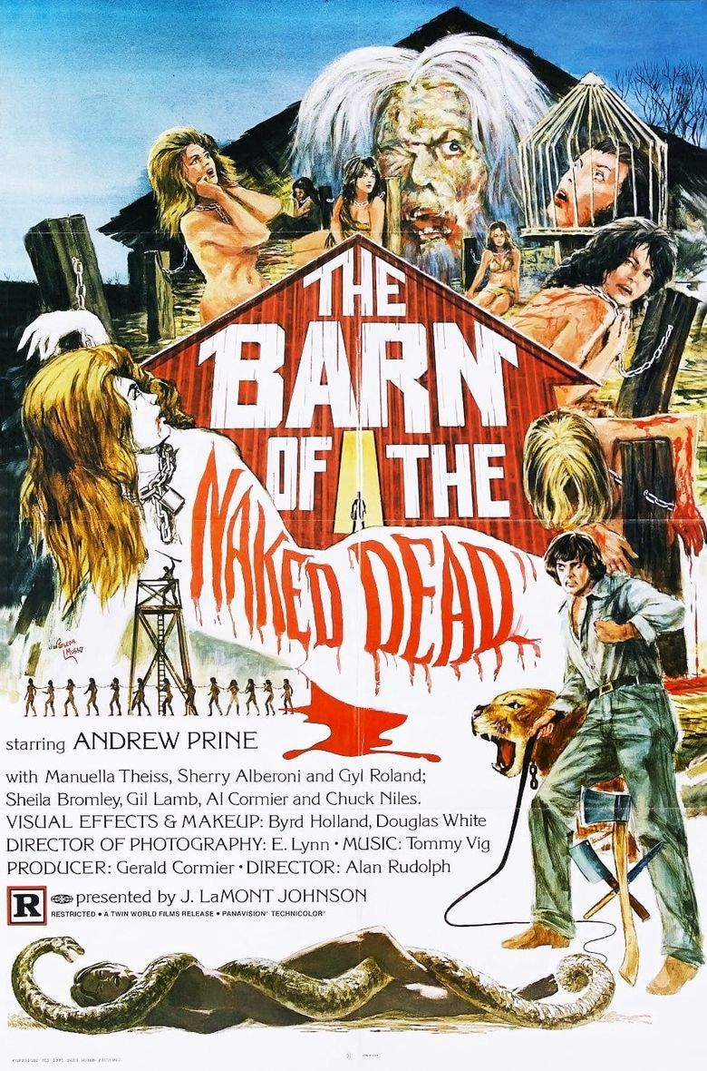 Barn of the Naked Dead Poster