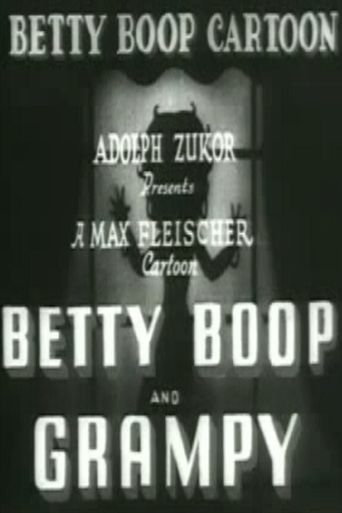 Betty Boop and Grampy Poster