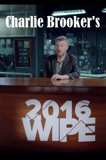 Charlie Brooker's 2016 Wipe Poster