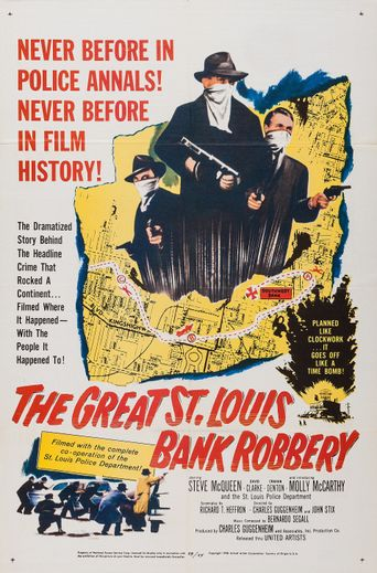 The Great St. Louis Bank Robbery Poster