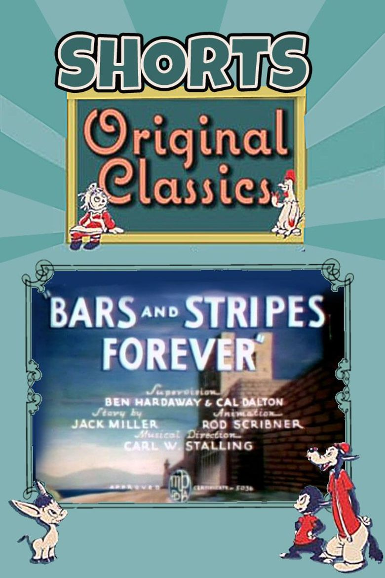 Bars and Stripes Forever Poster