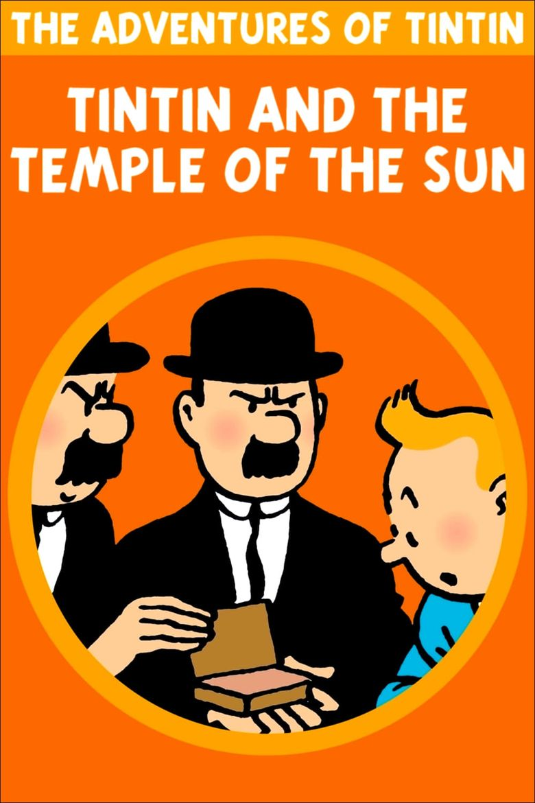 Tintin and the Temple of the Sun Poster