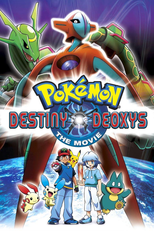 Pokémon: Destiny Deoxys Poster