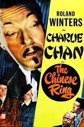 Charlie Chan in The Chinese Ring Poster