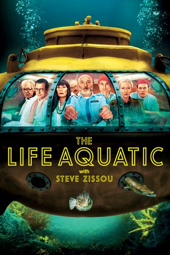 The Life Aquatic with Steve Zissou Poster