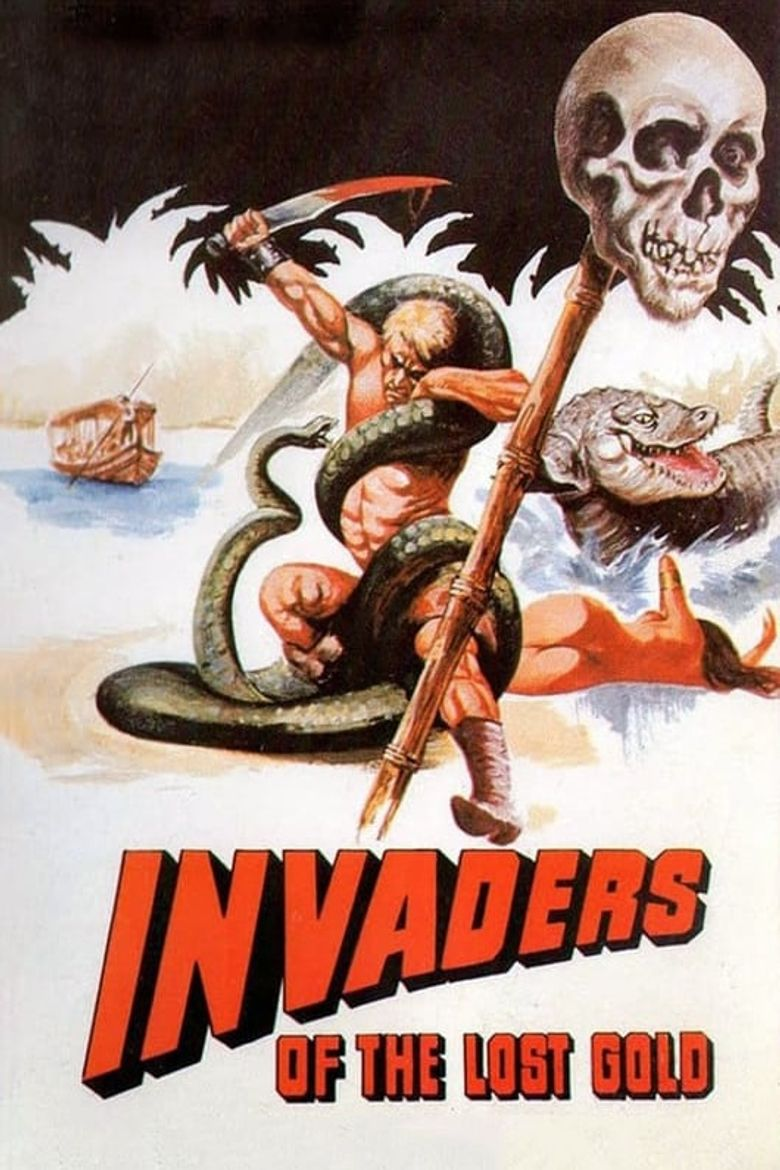 Invaders of the Lost Gold Poster