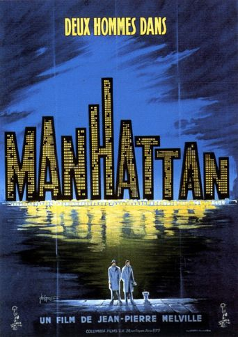 Two Men in Manhattan Poster