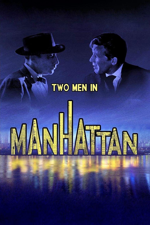 Two Men in Manhattan Poster