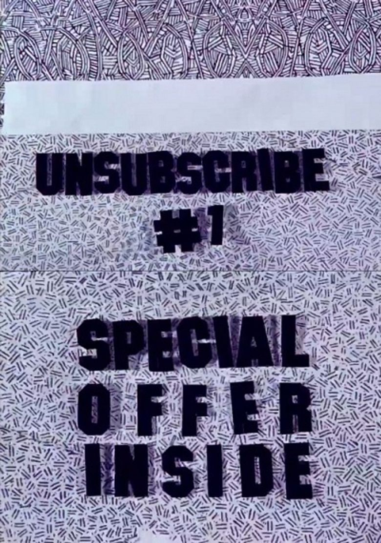 Unsubscribe #1: Special Offer Inside Poster