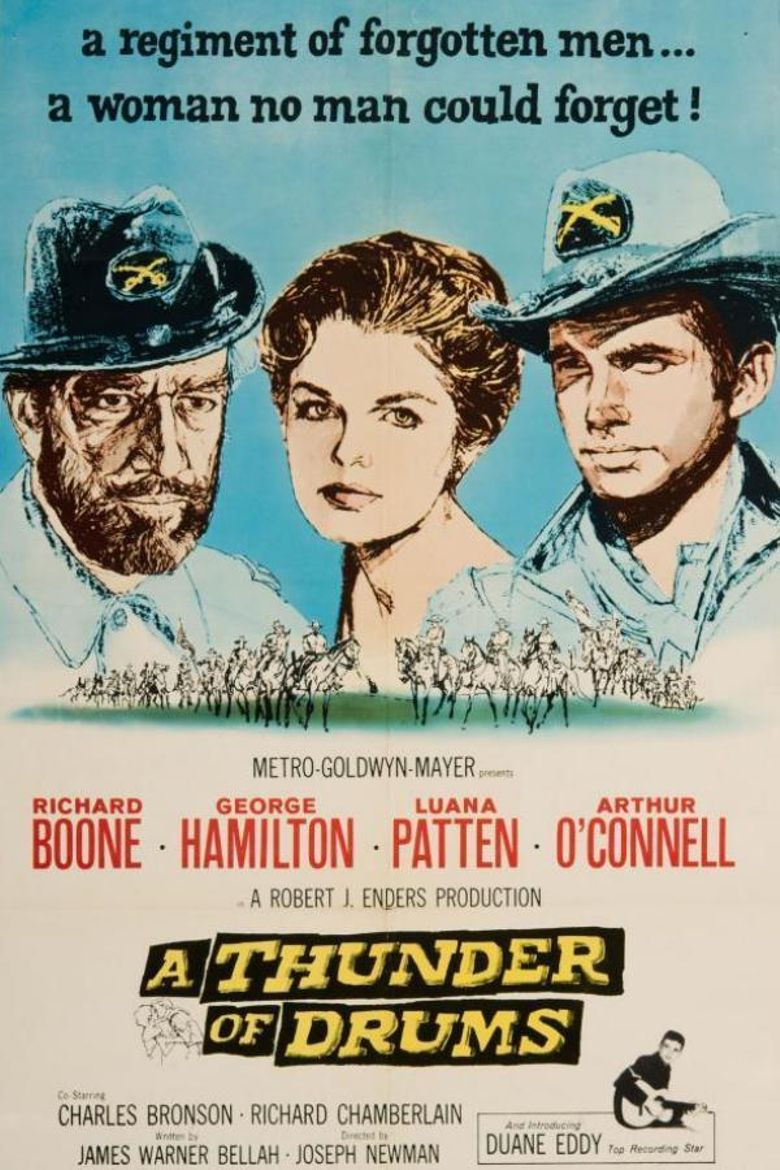 A Thunder of Drums Poster