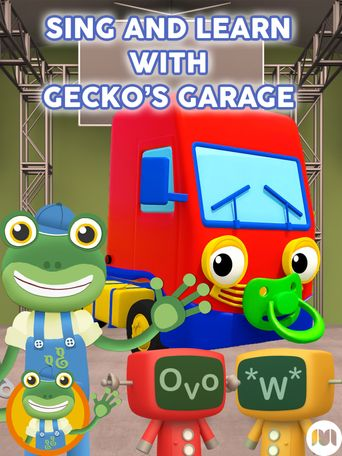 Sing and Learn with Gecko's Garage Poster
