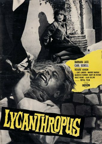 Werewolf in a Girls' Dormitory Poster