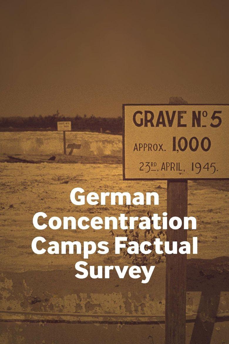 German Concentration Camps Factual Survey Poster
